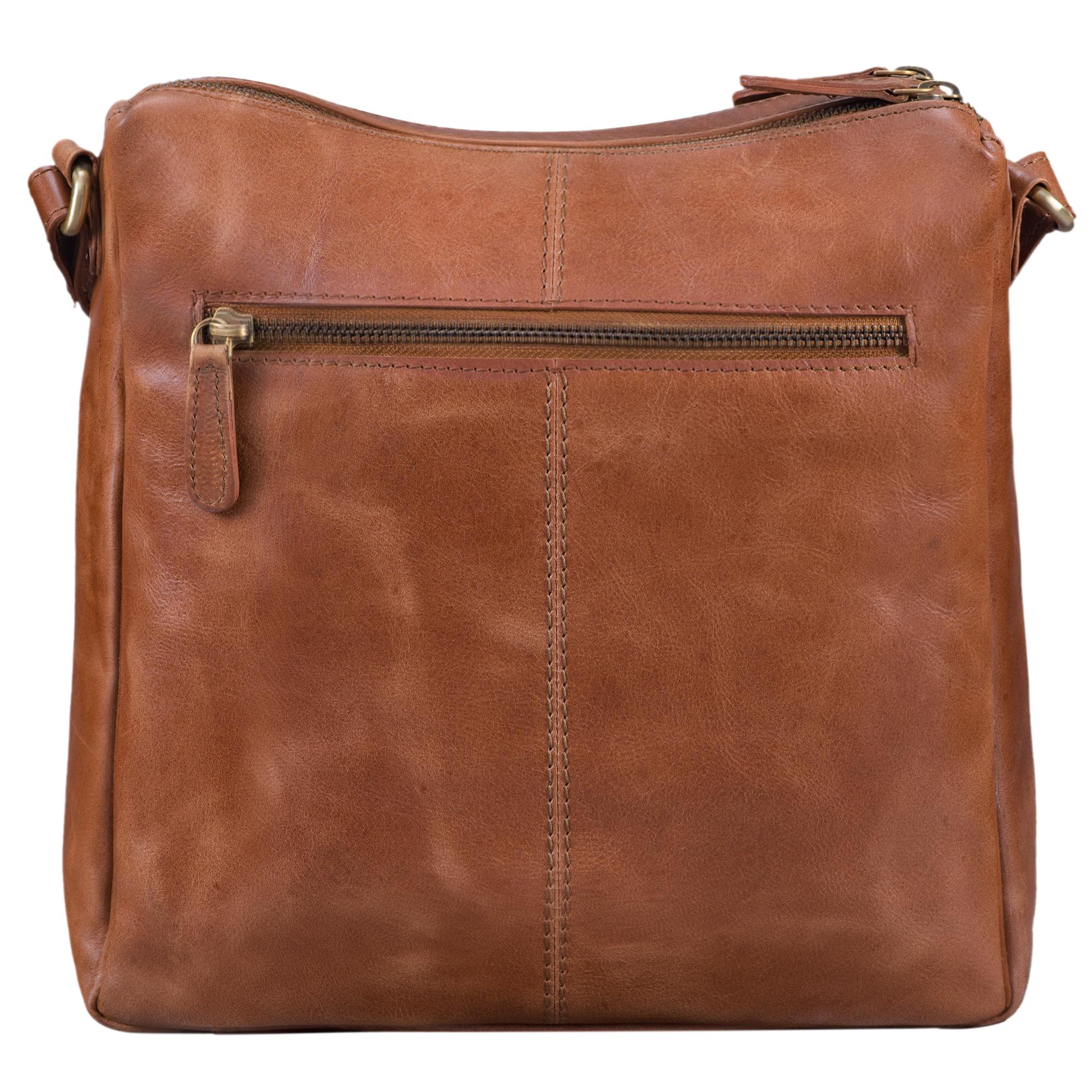 """STILORD """"Mira"""" Vintage Umhängetasche für Damen 12,2 Zoll Schultertasche Handtasche Ausgehen Freizeit Abendtasche Leder - Bild 11"""