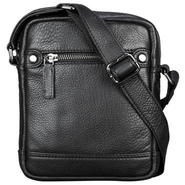 """STILORD """"Pepe"""" Vintage Schultertasche Herren Leder klein Umhängetasche für Männer kompakte Cross Body Bag mit Schultergurt und Reißverschluss aus echtem Leder – Bild 12"""