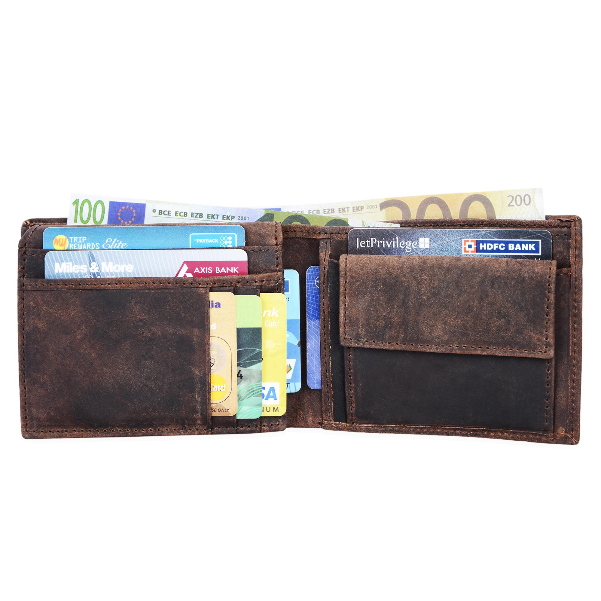 """STILORD """"Emmett"""" Geldbeutel Leder Portemonnaie Geldbörse Herren Damen Brieftasche aus echtem Leder Vintage Design - Bild 8"""