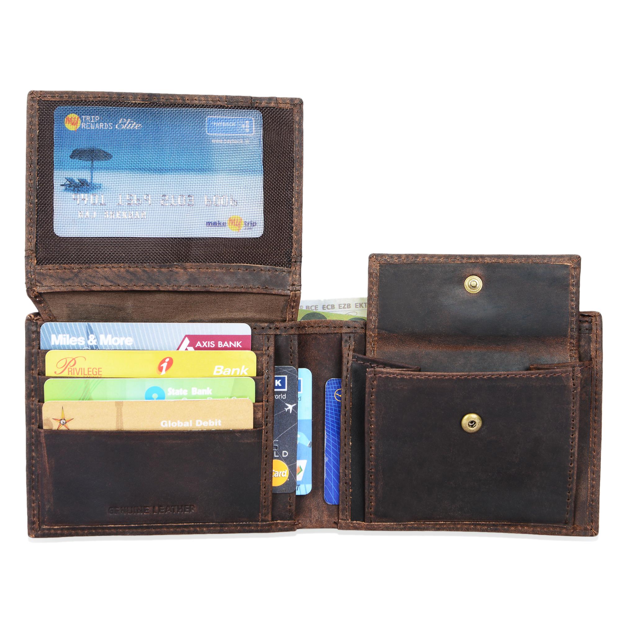 """STILORD """"Emmett"""" Geldbeutel Leder Portemonnaie Geldbörse Herren Damen Brieftasche aus echtem Leder Vintage Design - Bild 9"""