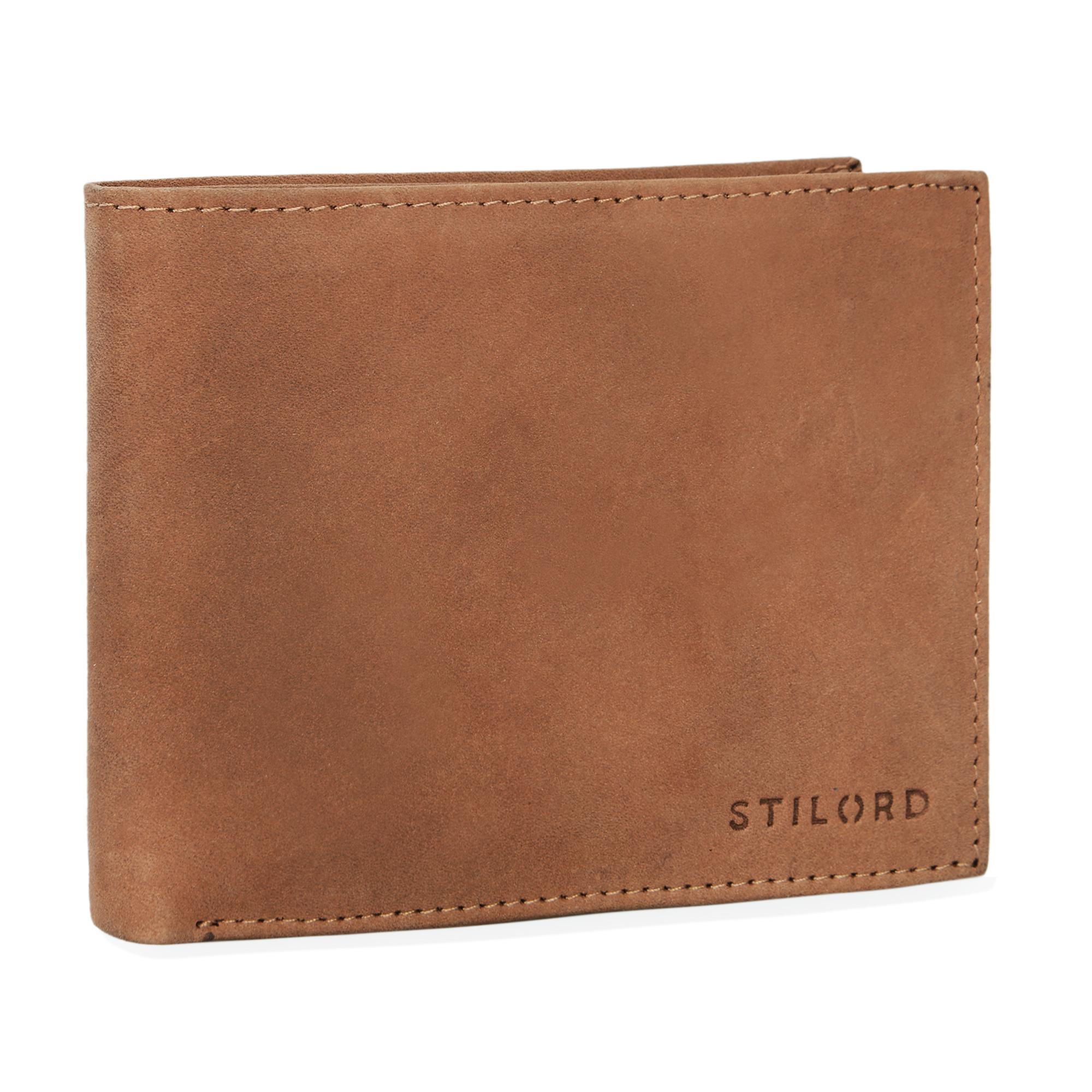 """STILORD """"Emmett"""" Geldbeutel Leder Portemonnaie Geldbörse Herren Damen Brieftasche aus echtem Leder Vintage Design - Bild 16"""