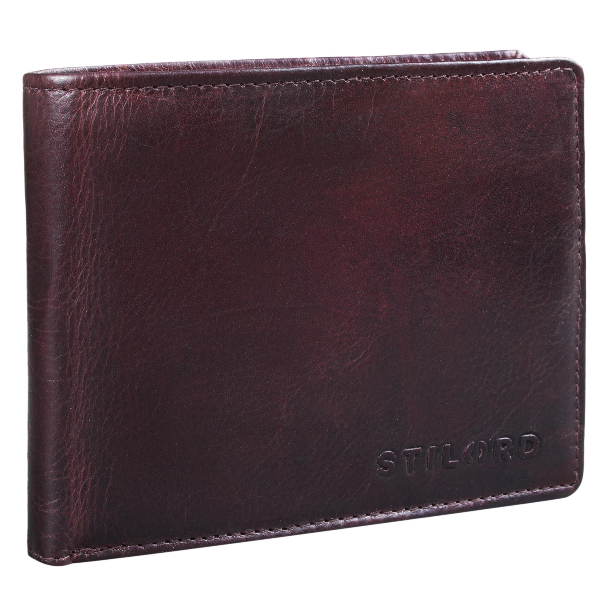 """STILORD """"Ethan"""" Vintage Leder Geldbörse Herren Portemonnaie Geldbeutel mit 7 EC Karten-Fächer Münzfach und Ausweisfach Brieftasche aus echtem Leder - Bild 8"""