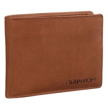 """STILORD """"Ethan"""" Vintage Leder Geldbörse Herren Portemonnaie Geldbeutel mit 7 EC Karten-Fächer Münzfach und Ausweisfach Brieftasche aus echtem Leder – Bild 7"""