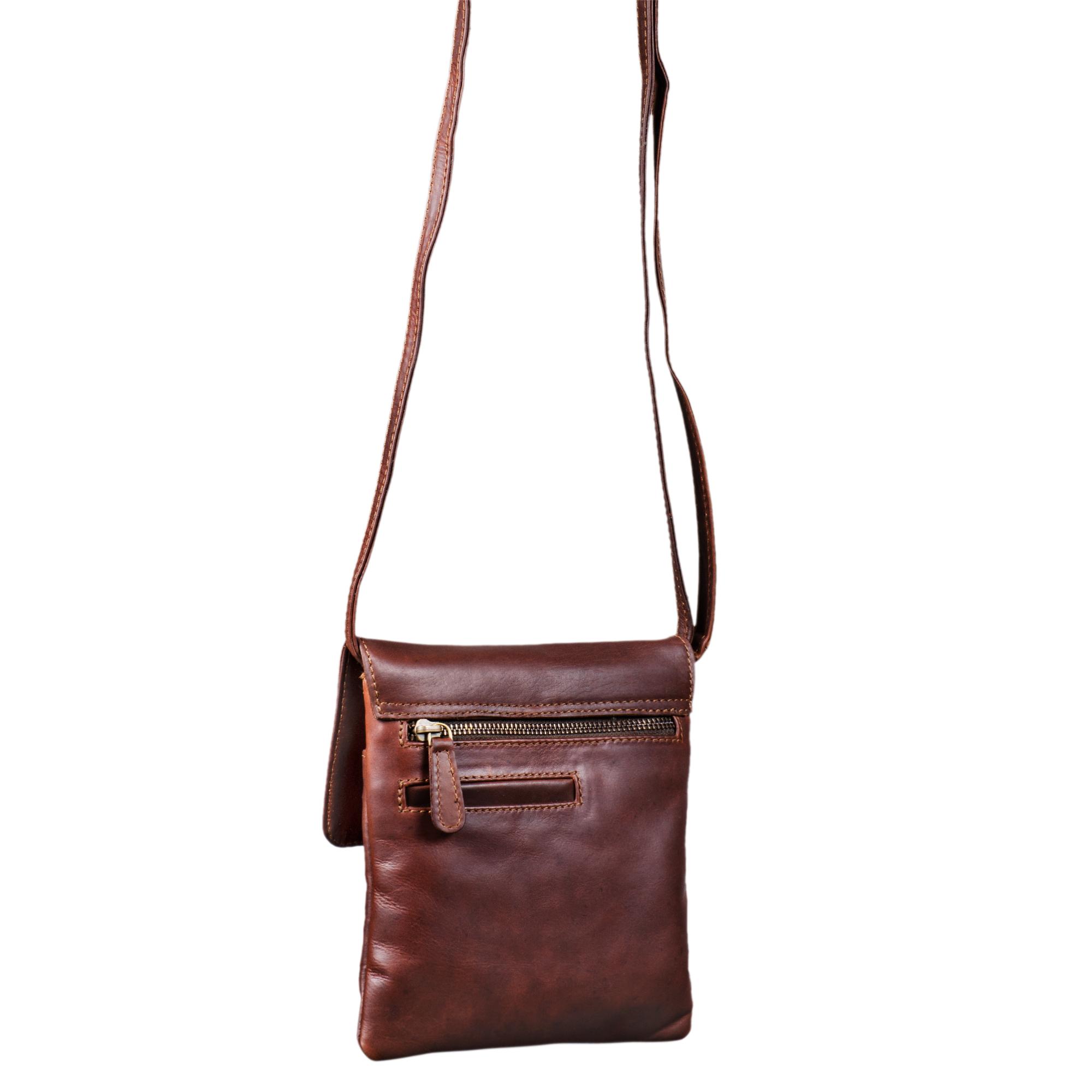 Klassische Abendtasche Leder Frauen klein