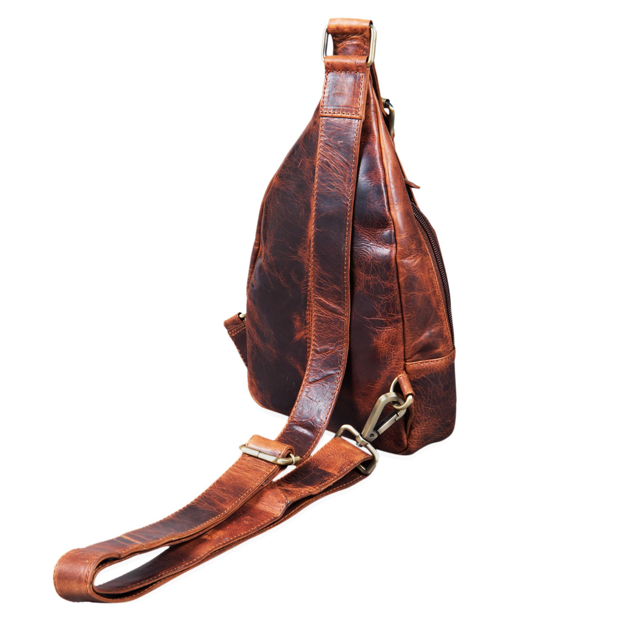 Echtleder Rucksack Handtasche