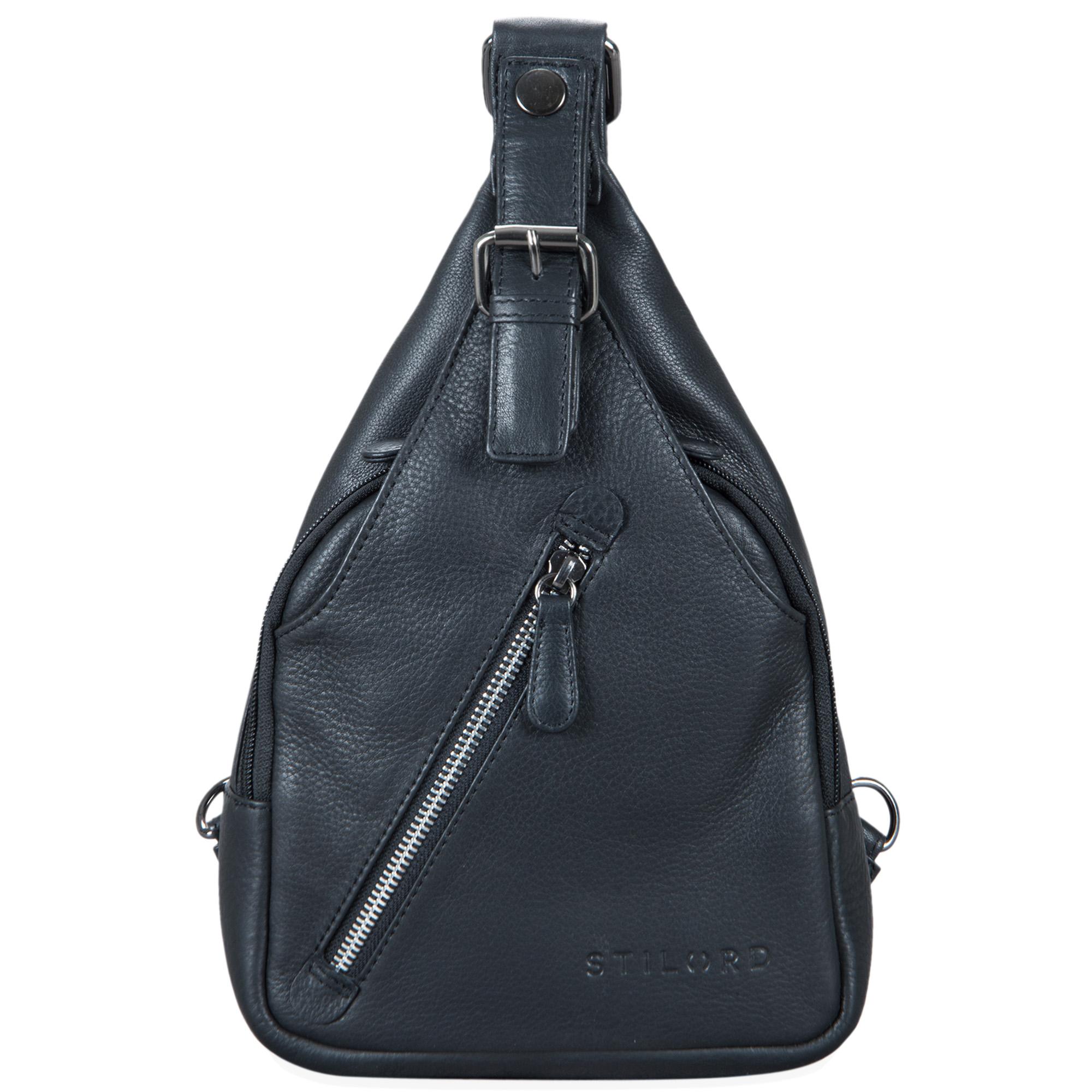 """STILORD """"Talisa"""" kleiner Leder Rucksack Damen Vintage Rucksackhandtasche Lederrucksack Handtasche City Ausgehen Shopping Daypack  - Bild 8"""