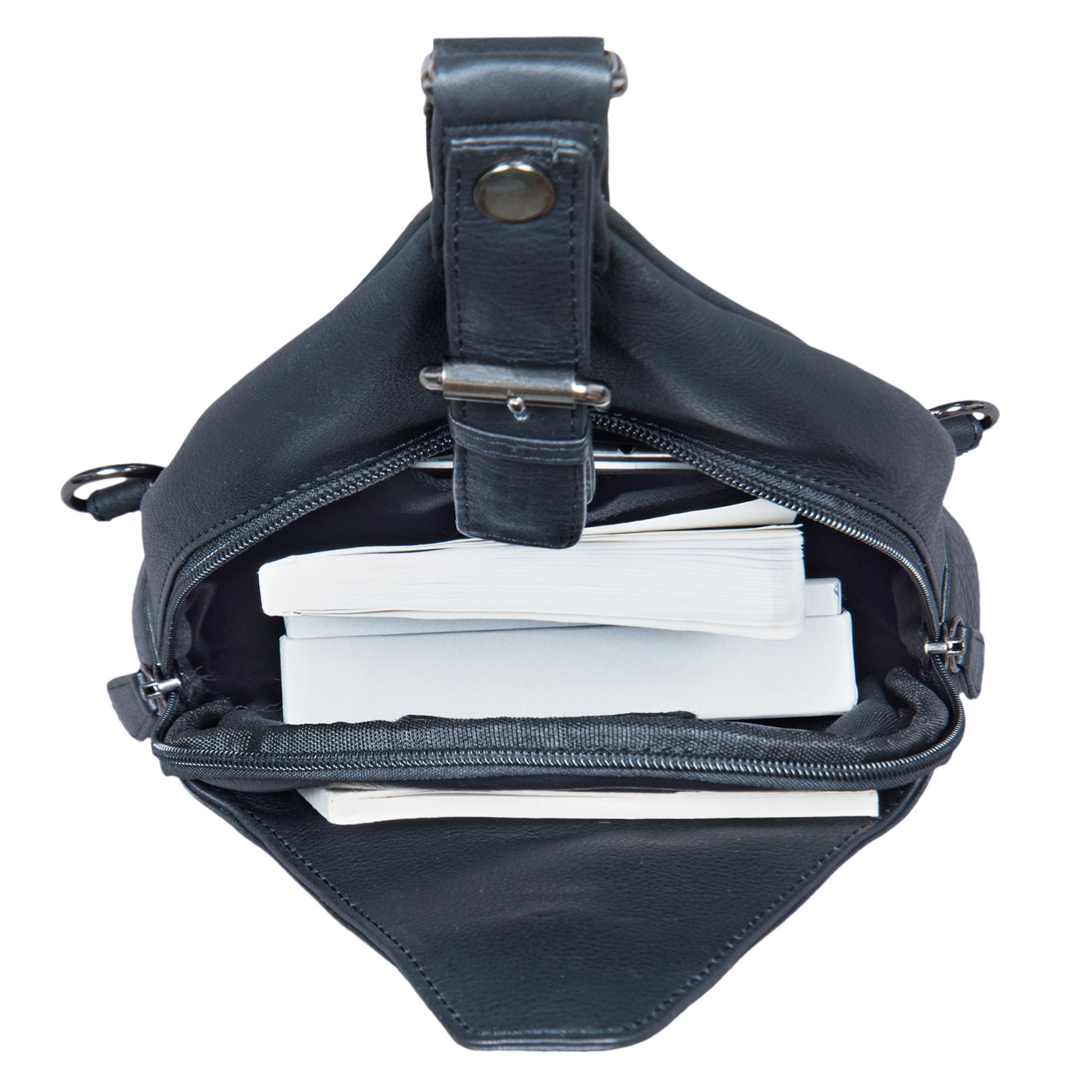 """STILORD """"Talisa"""" kleiner Leder Rucksack Damen Vintage Rucksackhandtasche Lederrucksack Handtasche City Ausgehen Shopping Daypack  - Bild 9"""