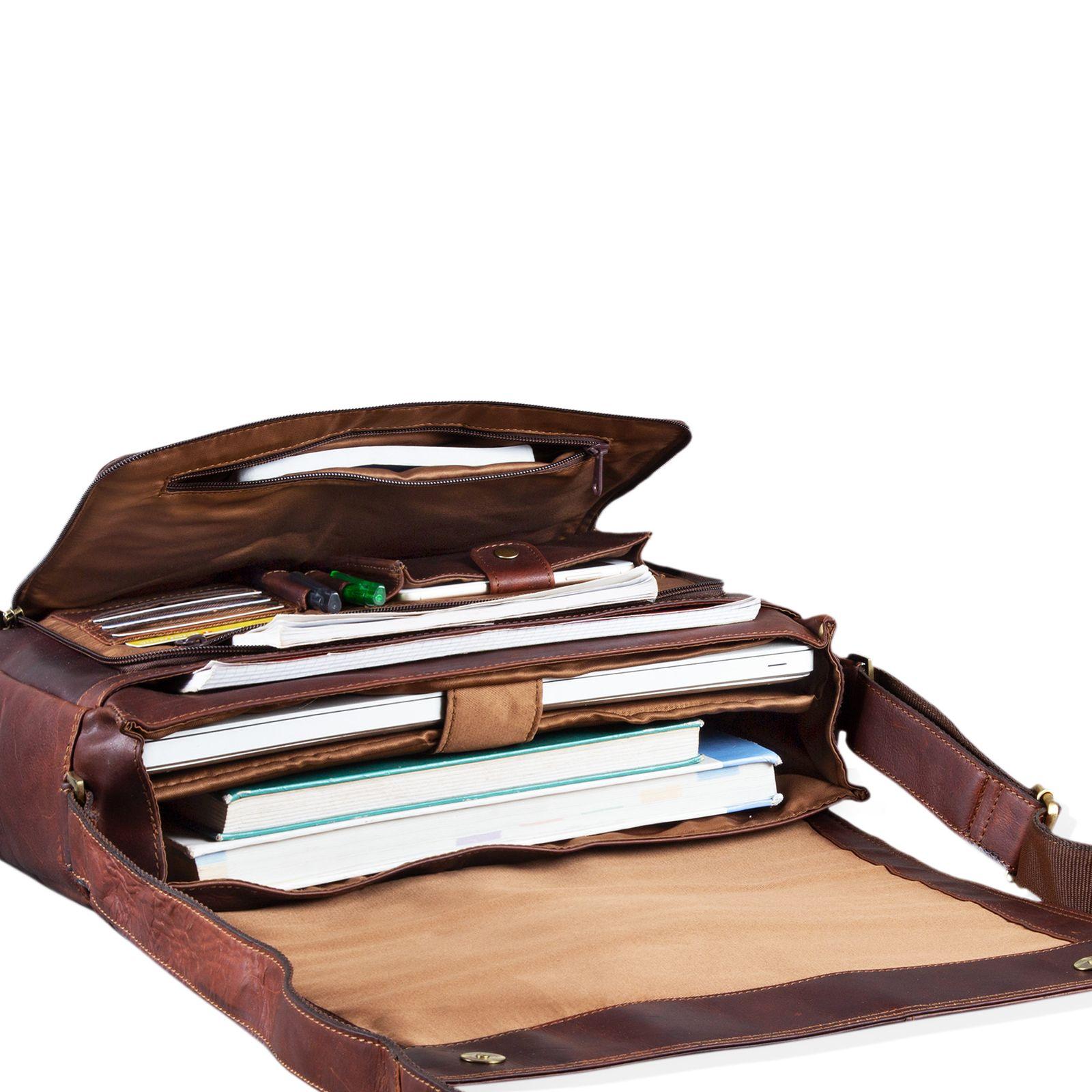 Echtleder Vintage Laptoptasche